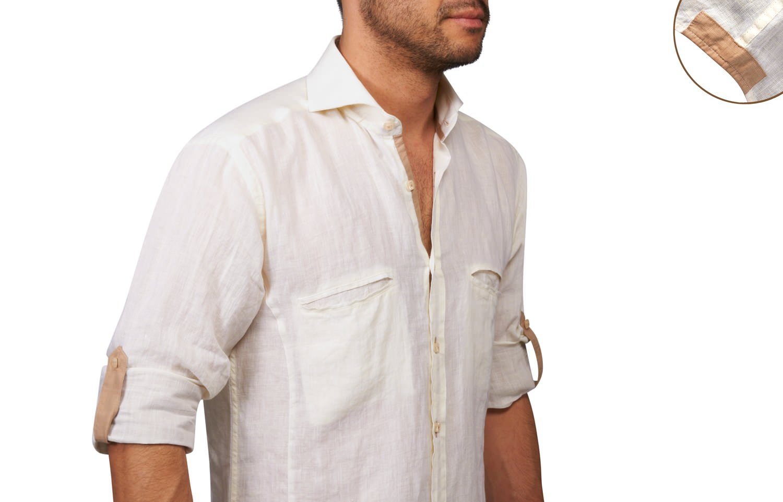 chemise en lin homme un basique avoir dans son armoire. Black Bedroom Furniture Sets. Home Design Ideas