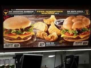 Mcdo menu, voici mes recommandations