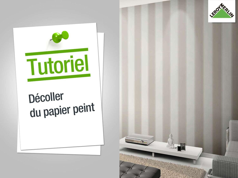 Comment enlever du papier peint - Installer du papier peint ...