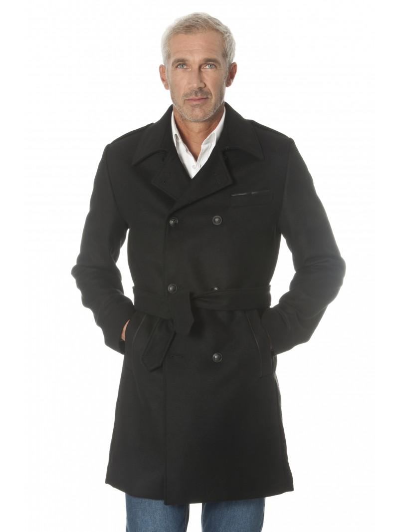 Souvent Manteau laine homme, il vous en faut un dans votre armoire NO26
