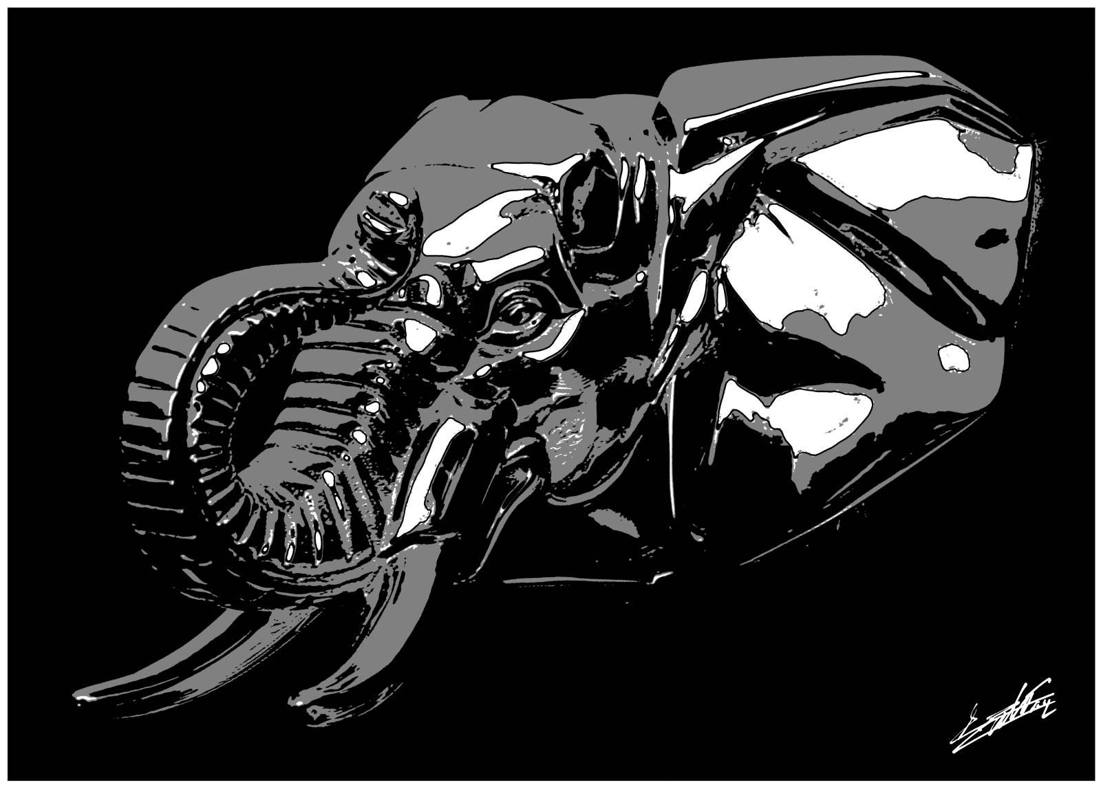 tableau moto noir et blanc tx48 jornalagora. Black Bedroom Furniture Sets. Home Design Ideas